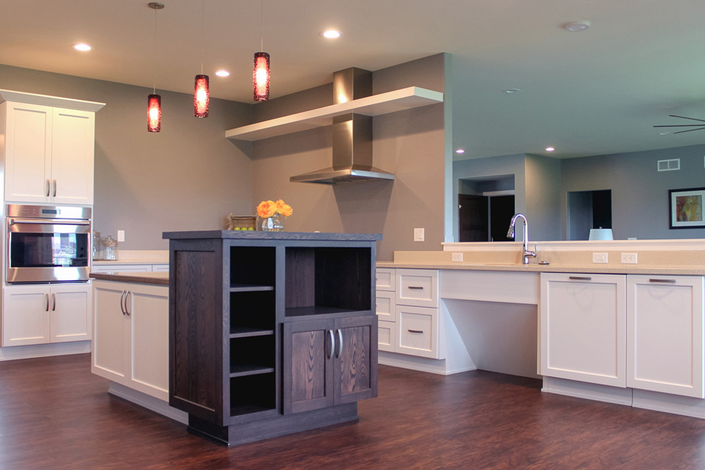 custom built universal design home