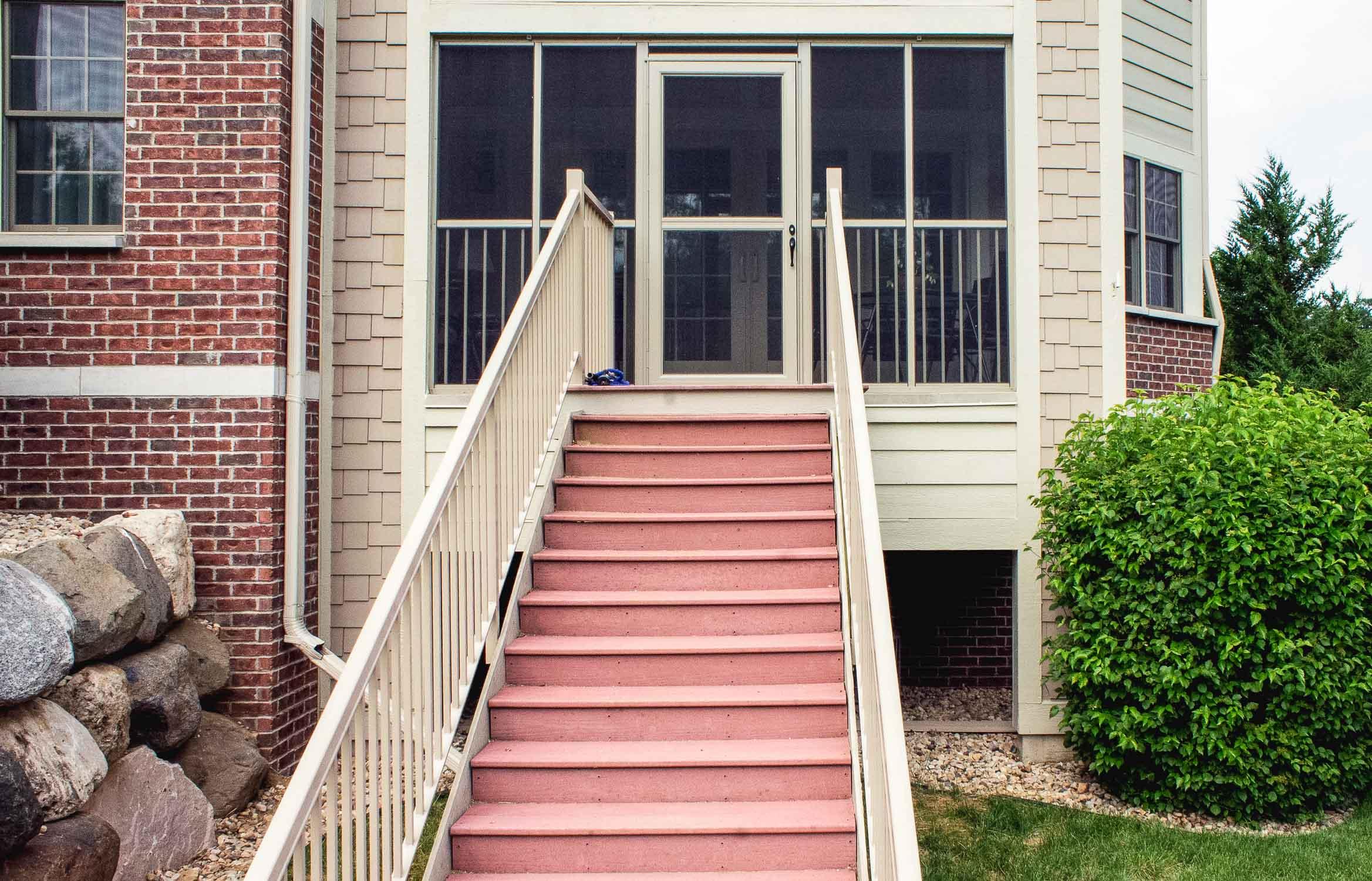 Condominium Renovation - Replacement Stair Case
