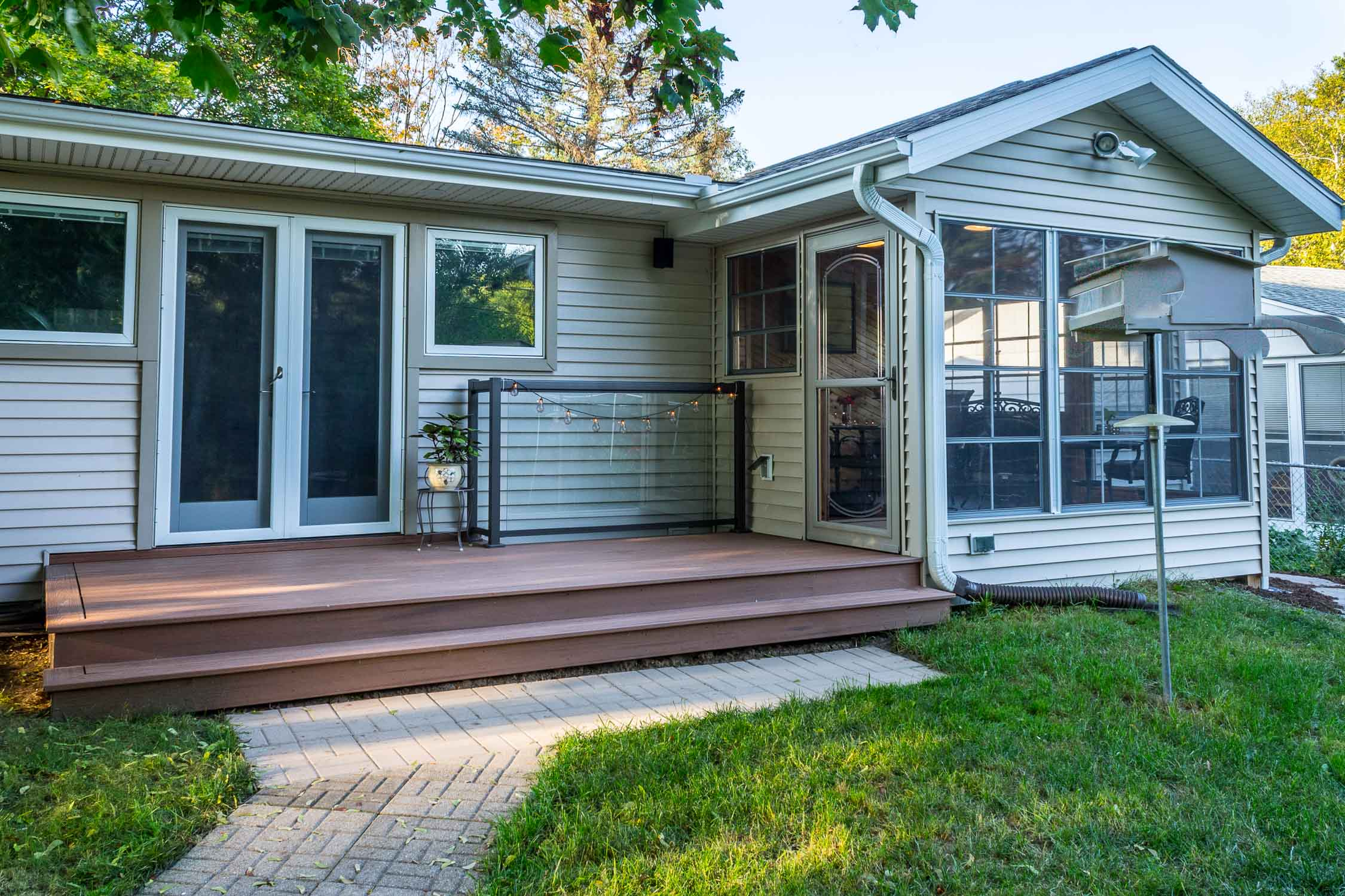 Remodeled Deck and Three Season Porch, Madison, WI