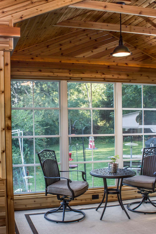 New Windows Provide Backyard Views