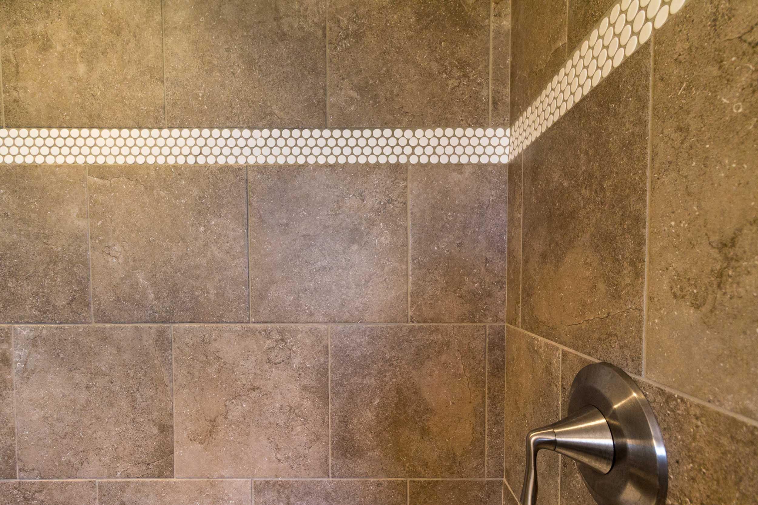 Master Bathroom Design Tile Shower Walls