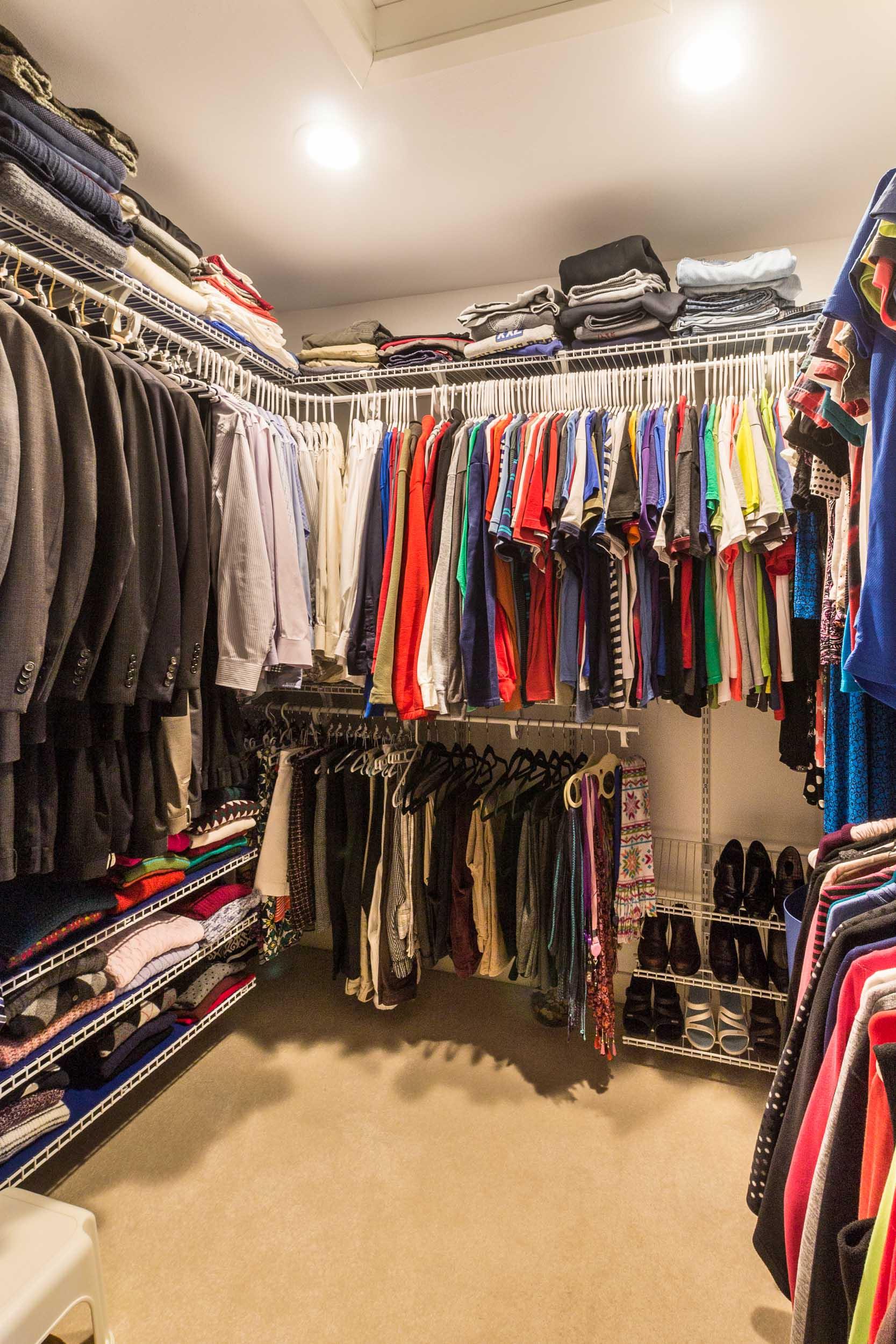 Master Suite Walk-In Closet Design Remodel