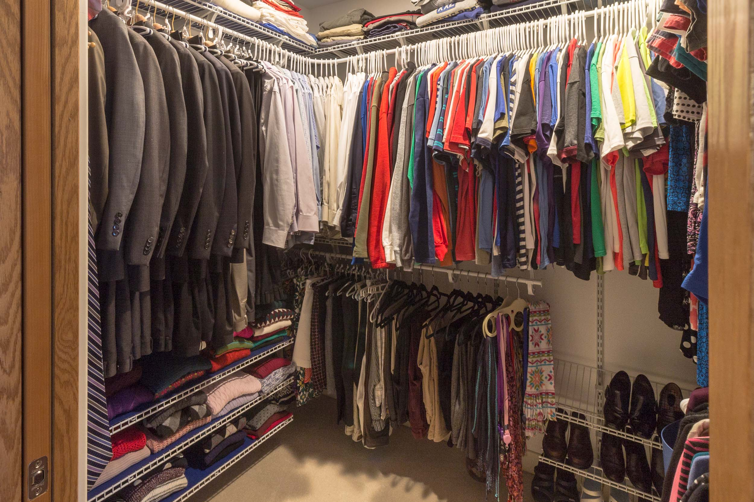 Master Suite Walk-In Closet Home Renovation Madison WI