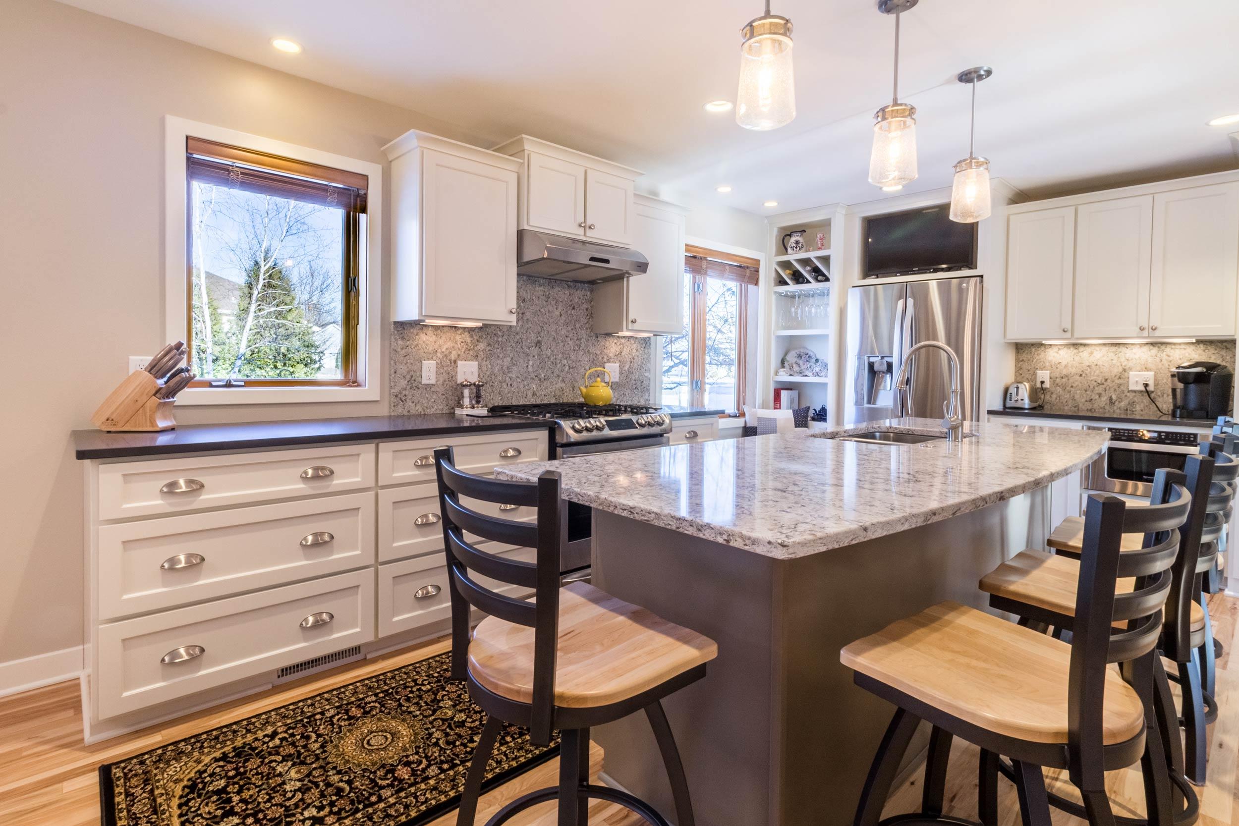 Transitional Kitchen Design, Madison WI.