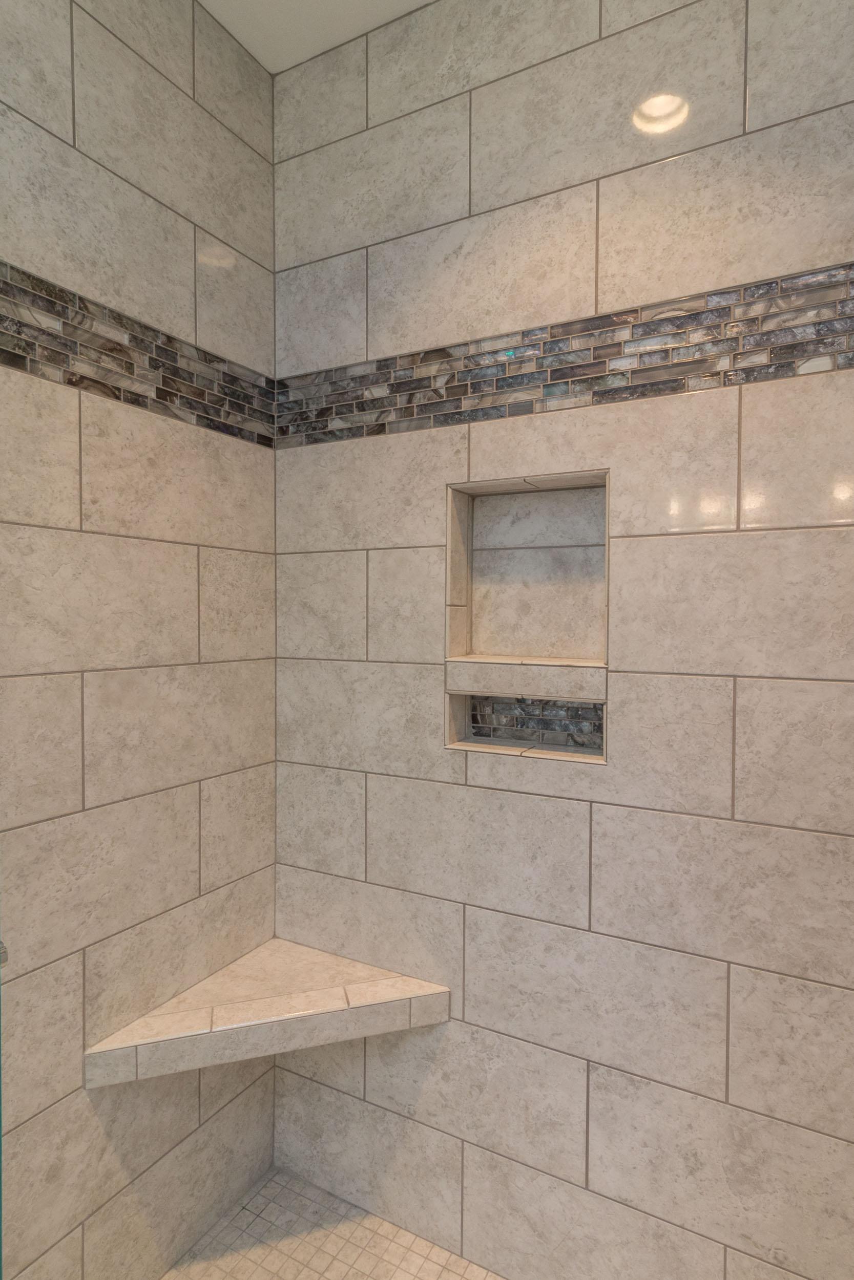 Bathroom Remodeling - A Custom Walk-in Shower