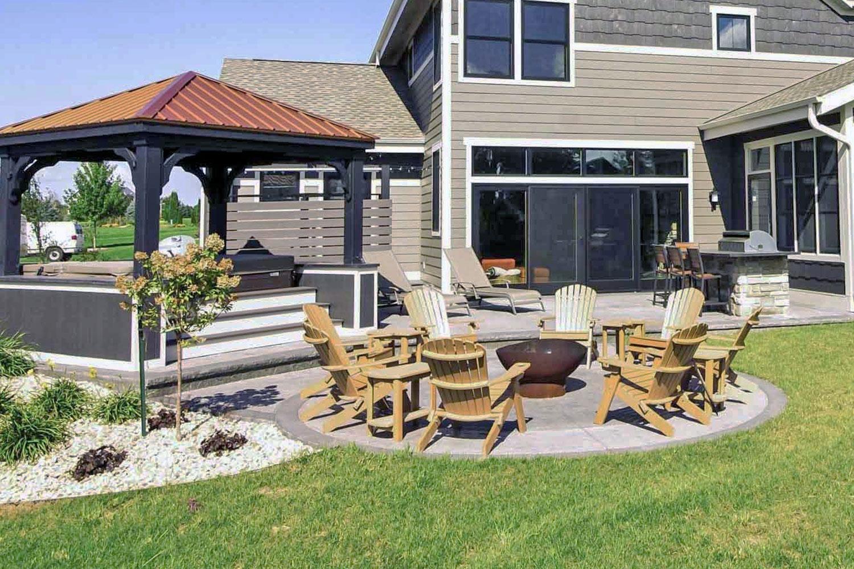 Outdoor kitchen design Madison, WI