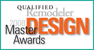 this home was awarded honorable mention in the qualified remodeler national master design awards