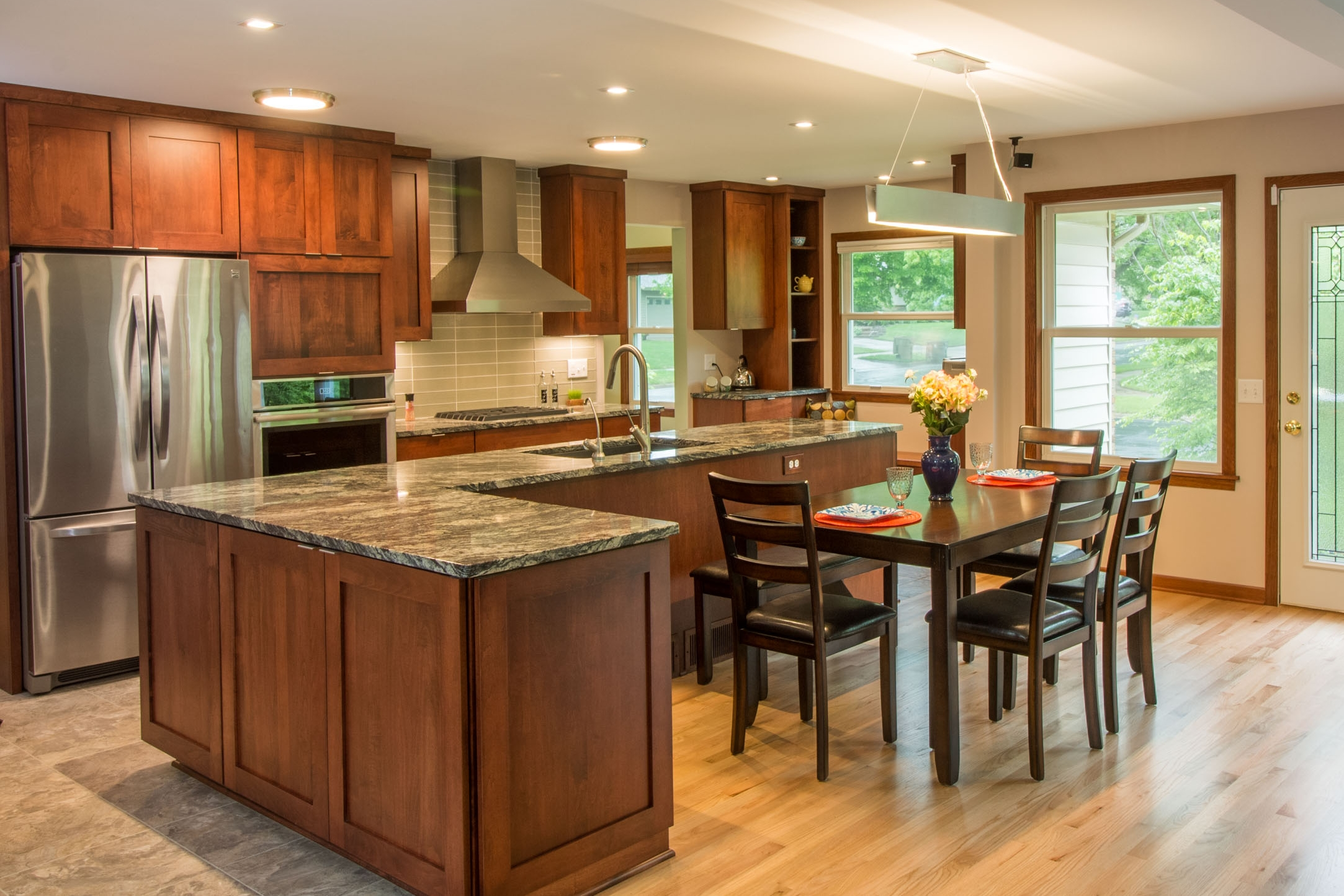 1950's Ranch Home Open Concept Kitchen Remodel