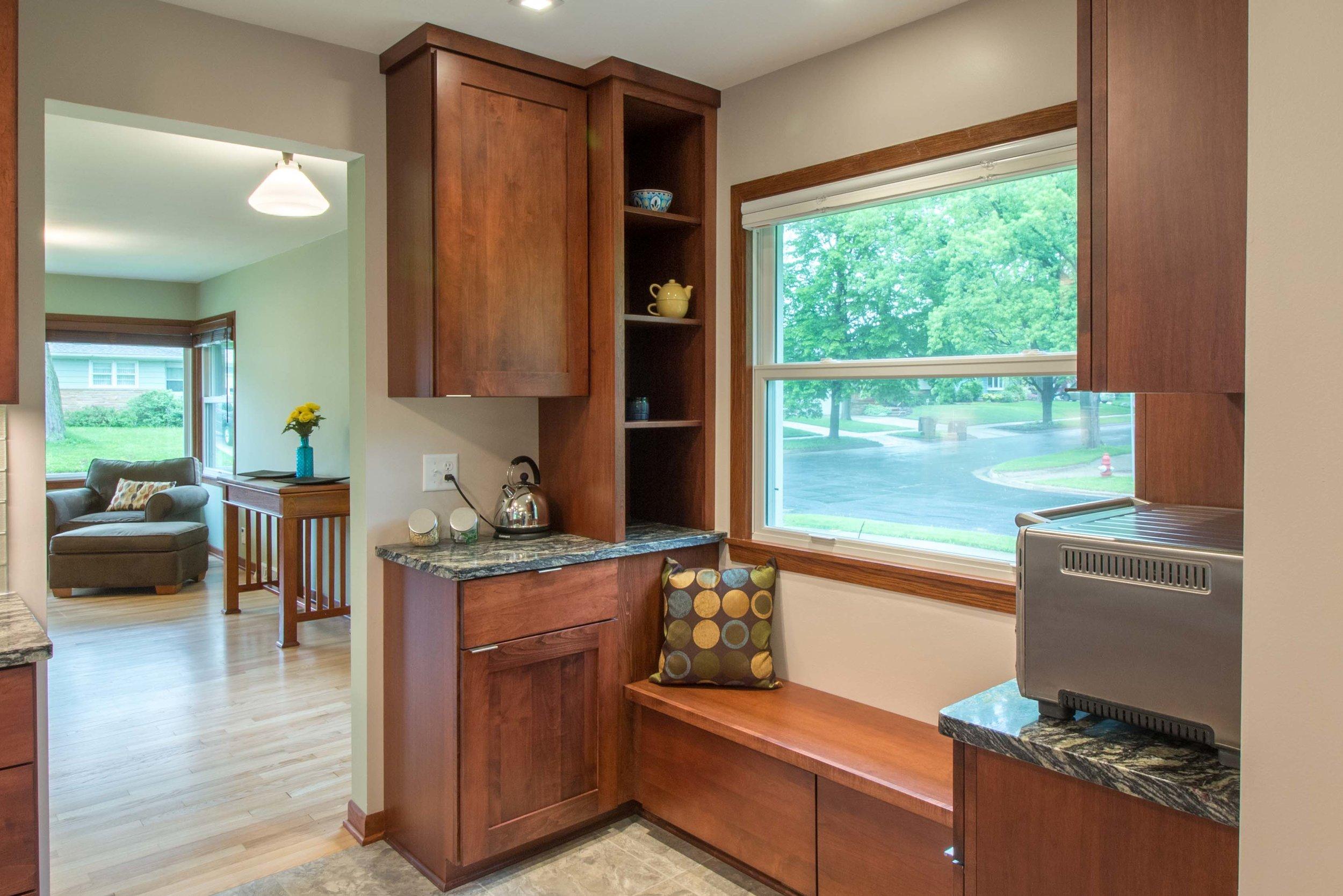 Kitchen floor Plan design Midvale Heights Madison Wisconsin