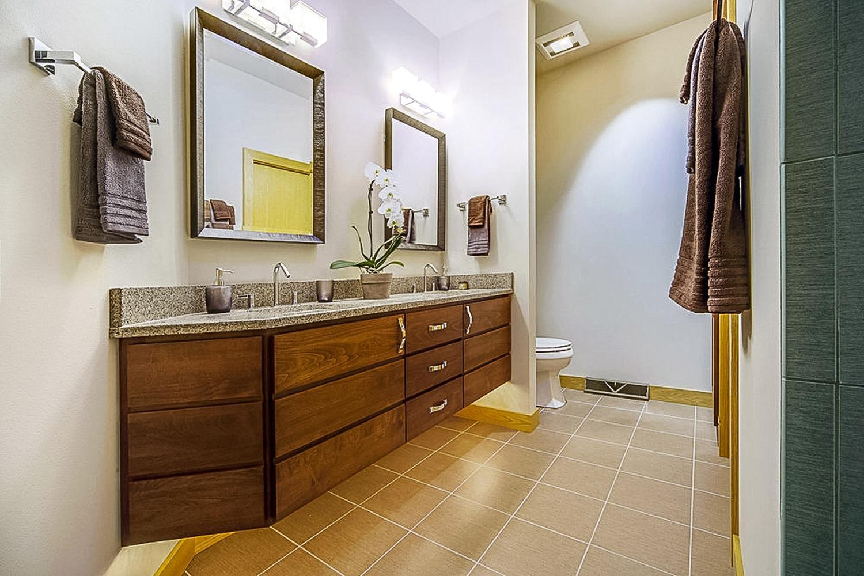 Raised Vanity Master Bath