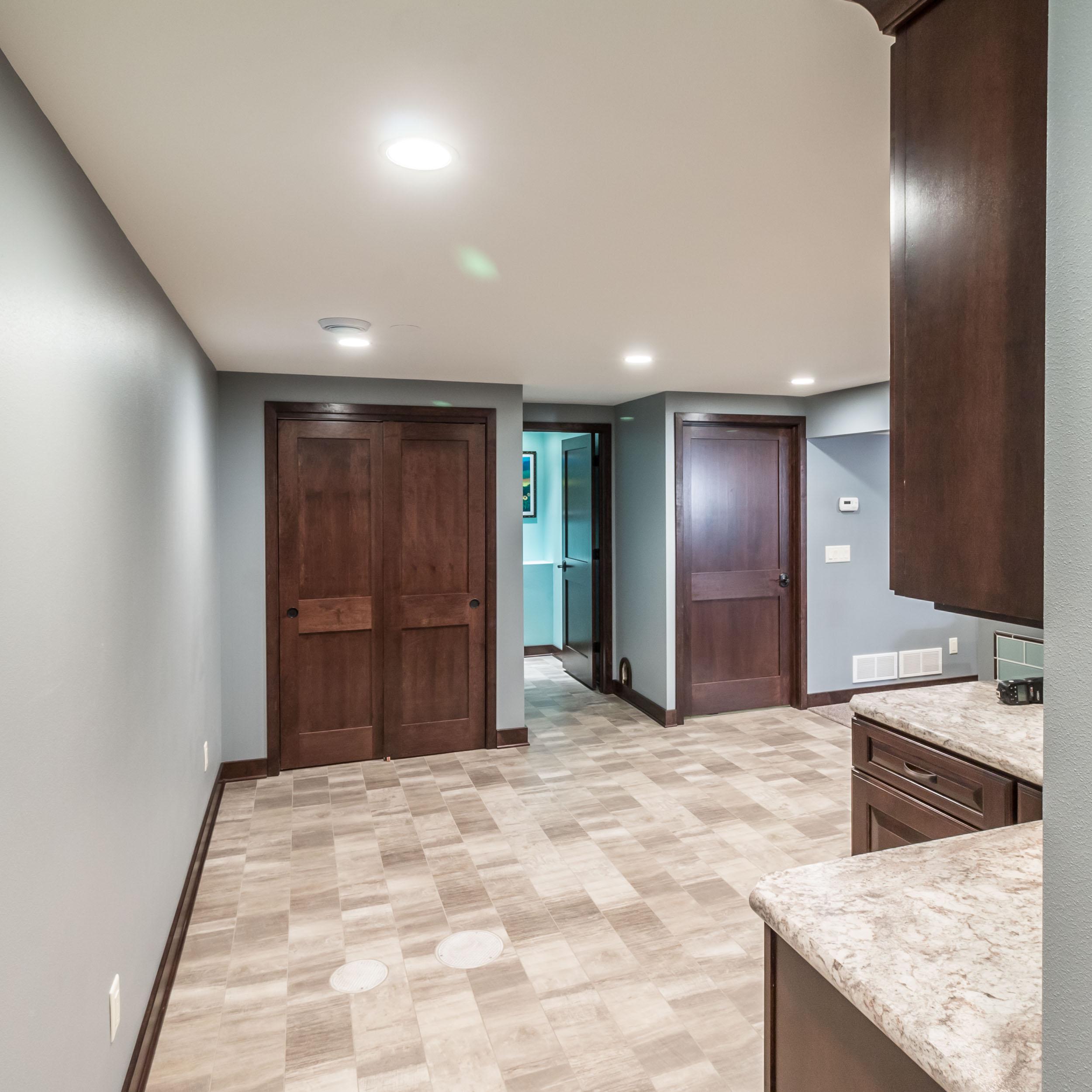 upgraded Woodwork And Luxury Vinyl Plank Flooring