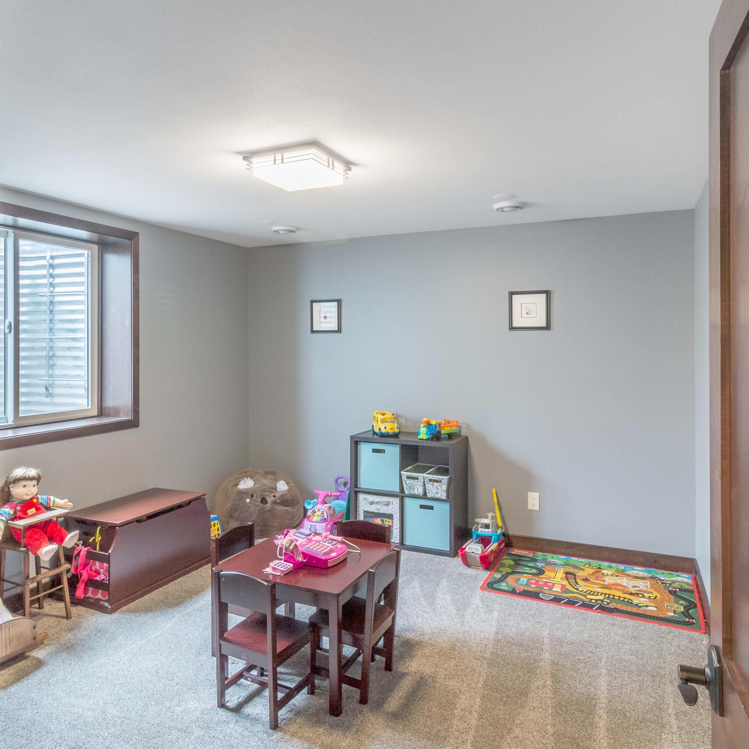Egress Windows In The Children's Playroom