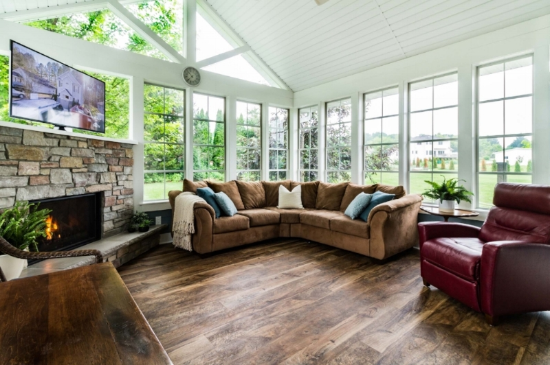 Three Season Porch Addition, Madison, Wi