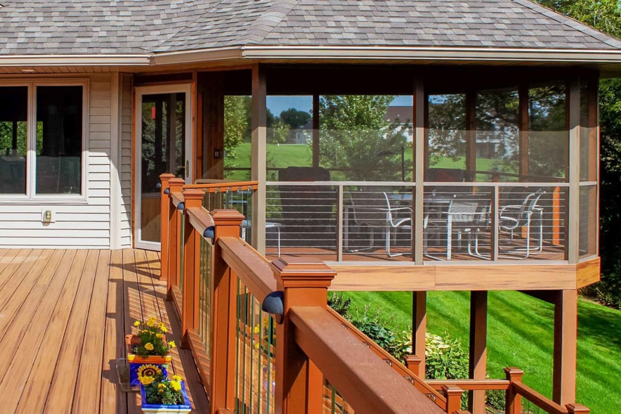 three Season Porch and Deck Design, Madison, WI