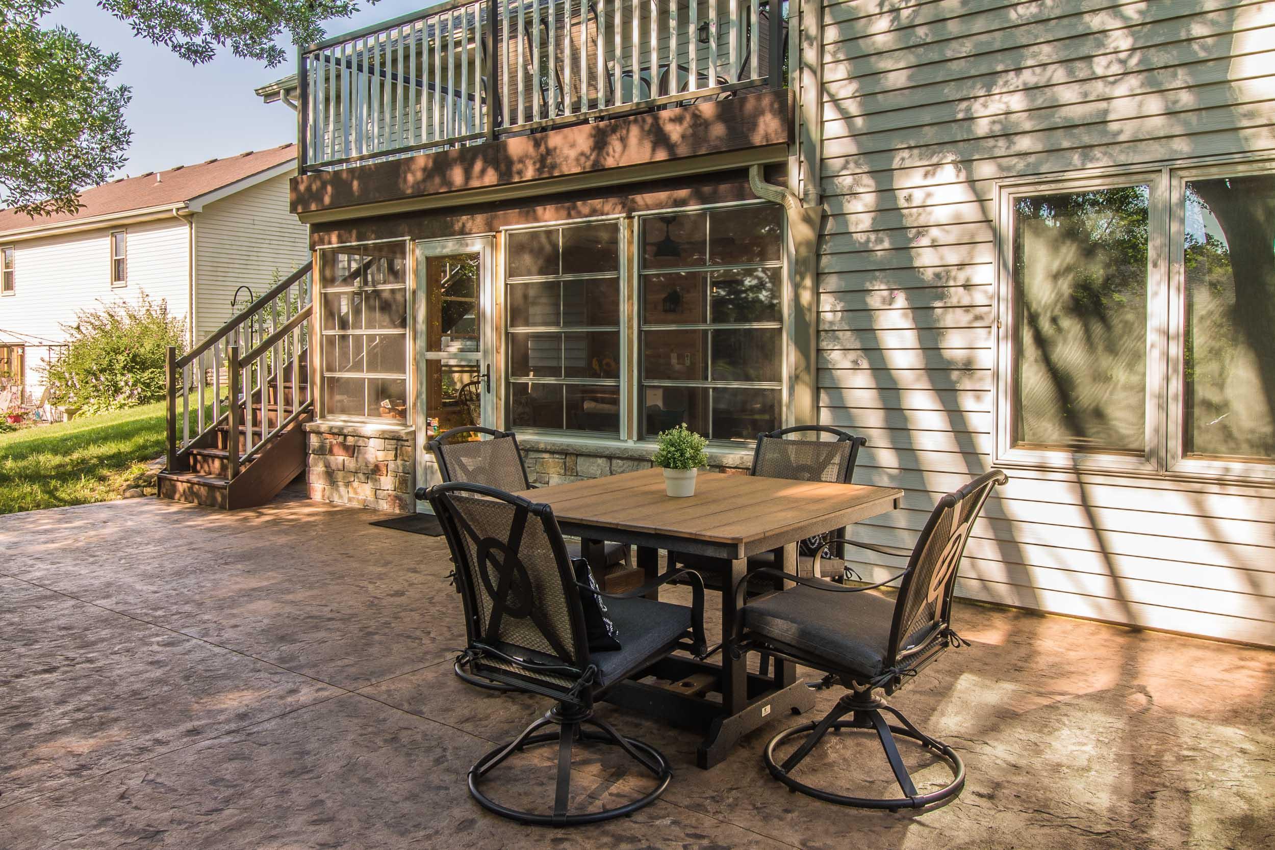 Three Season Porch Remodel and Patio Design