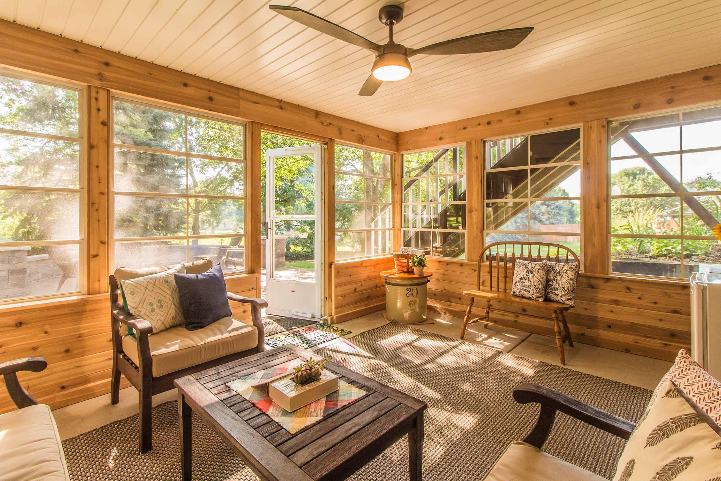 3 Season Porch Home Addition DeForest, WI