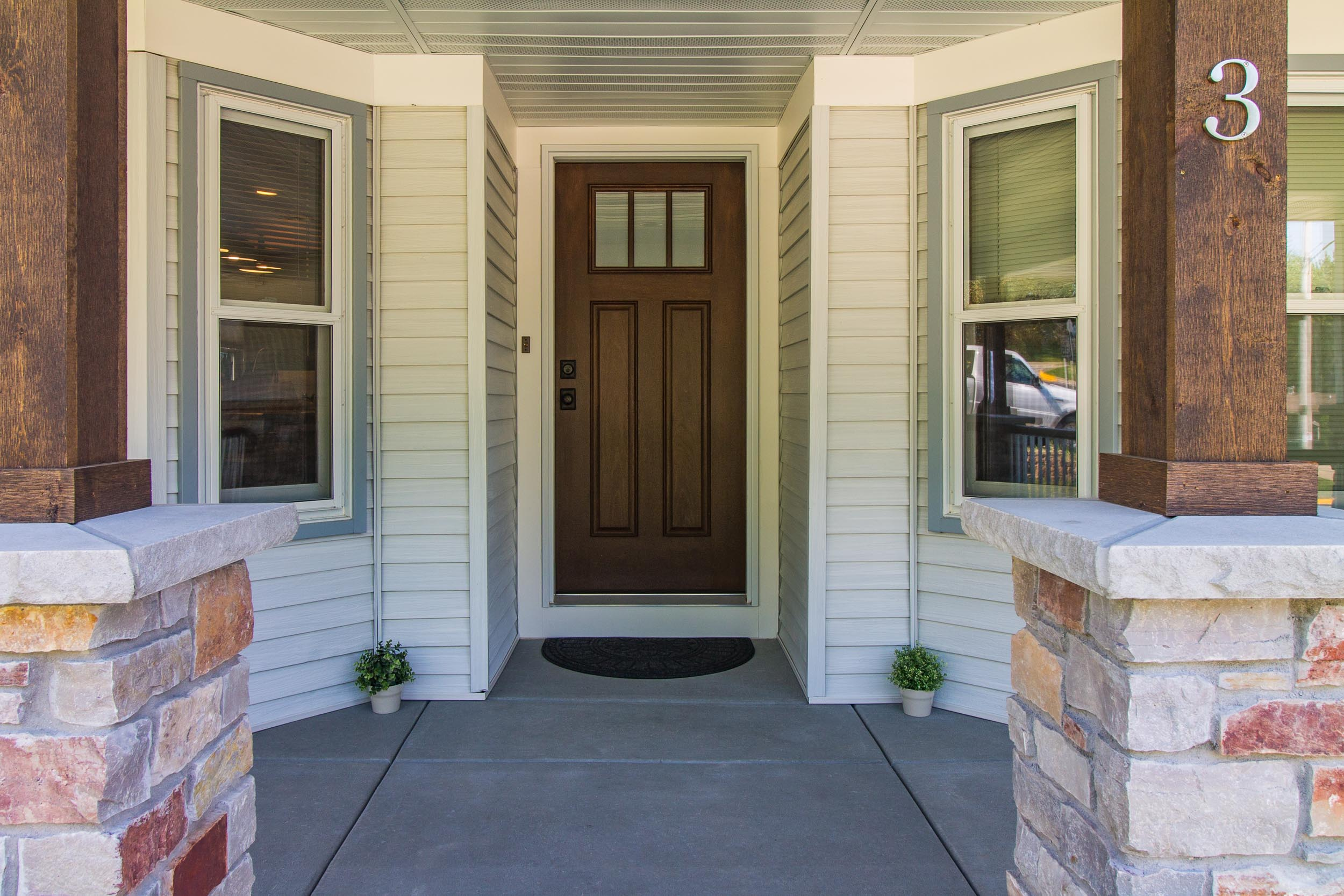 Remodeled Home with Porch Addition, Wisconsin