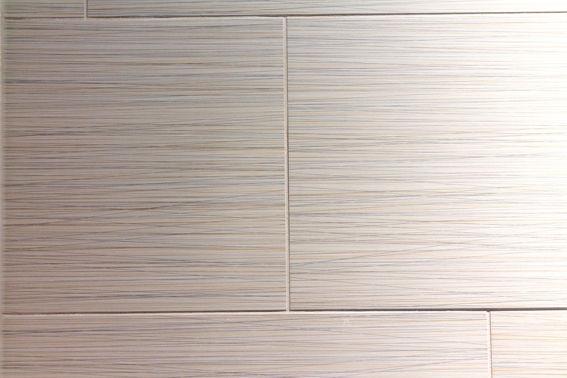 Shower Wall tile is Pioggia Tile, 12x24, Ivory, installed at a 1/3 offset