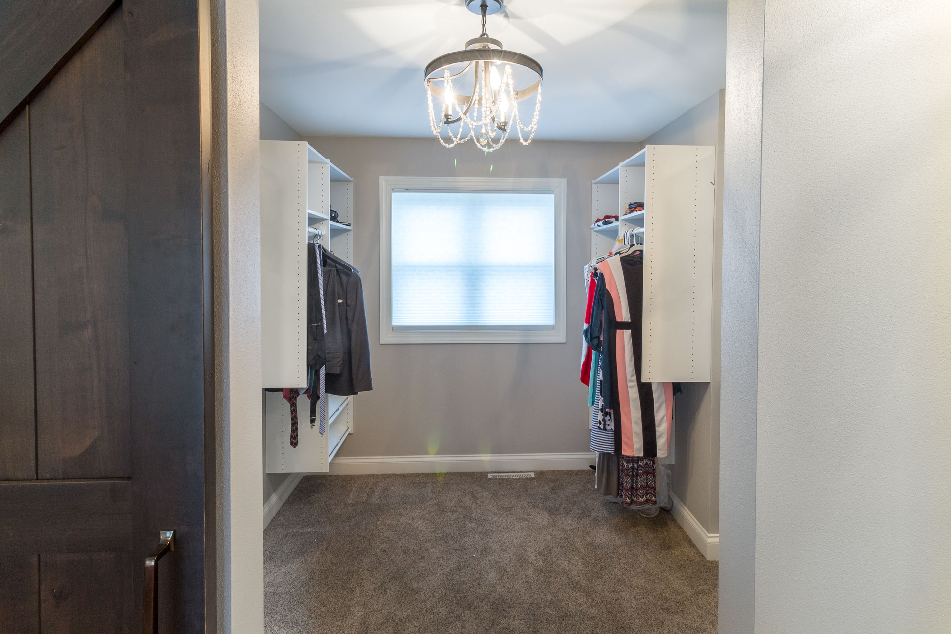 His and Her Walk-in Closet