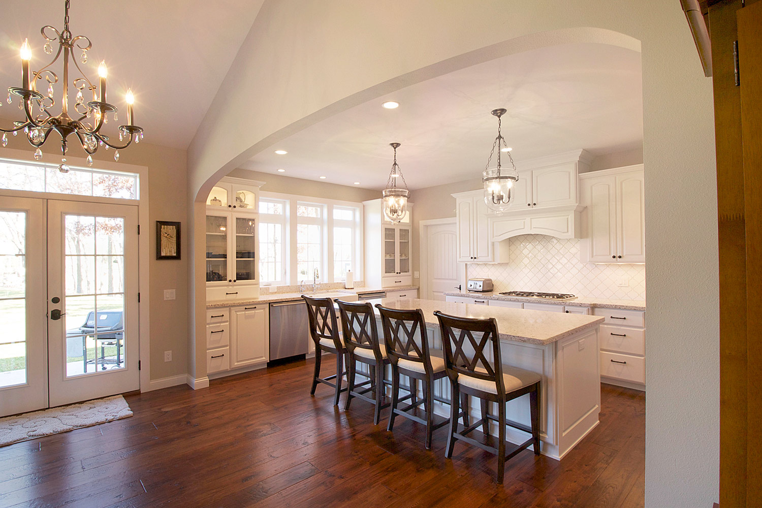 Open concept kitchen design and remodeling