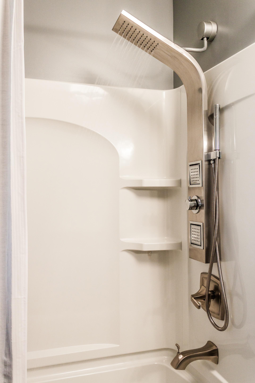 New Shower Installation with Body Spray