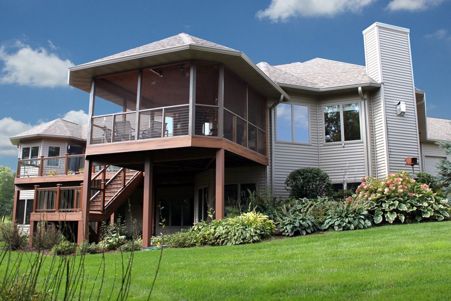 Home Renovation: Two Story Deck Design, Madison, WI
