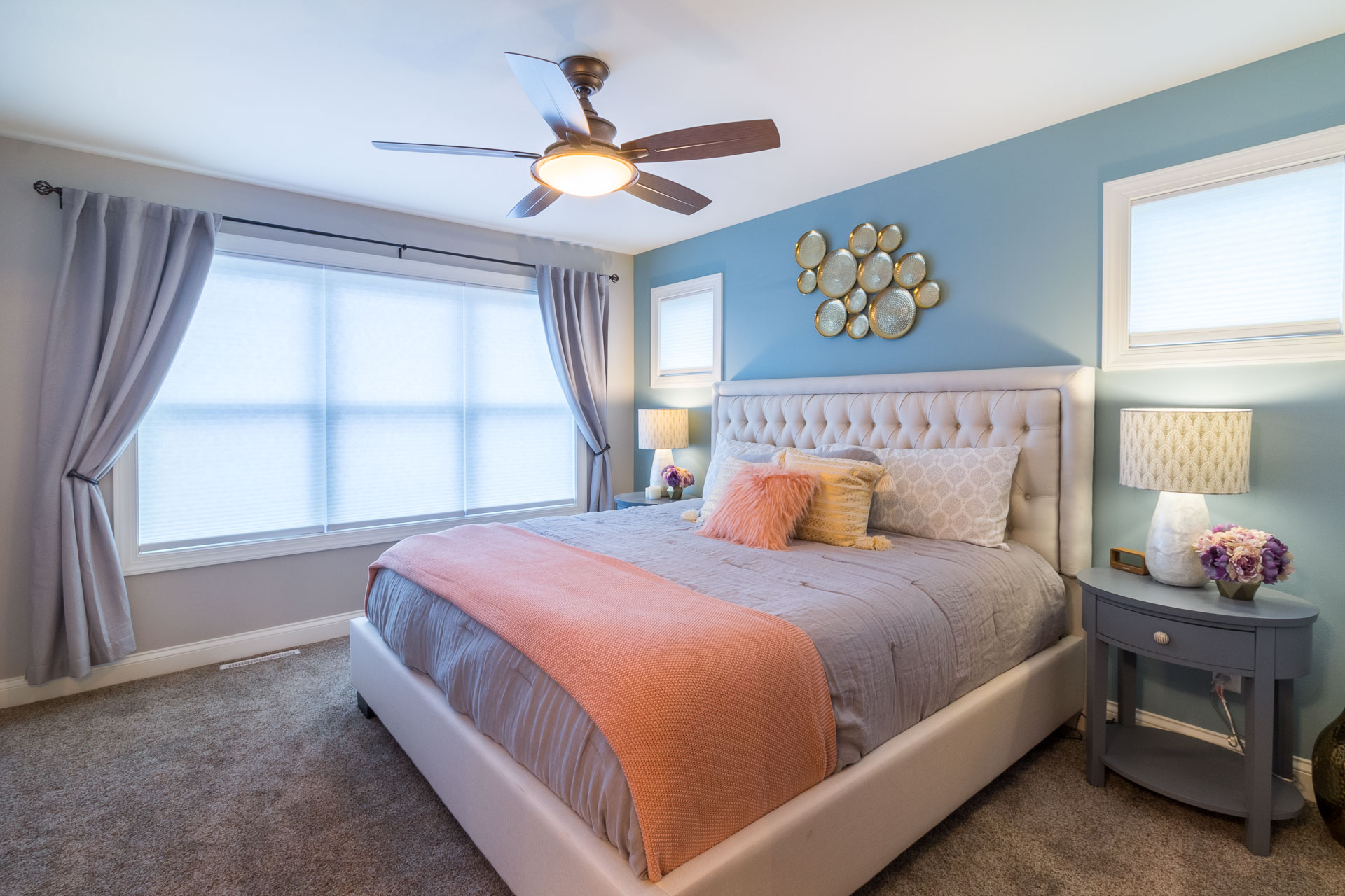 - Windows, lighting, color, furnishings… a well-planned project will come together to create the perfect feel for your master suite.