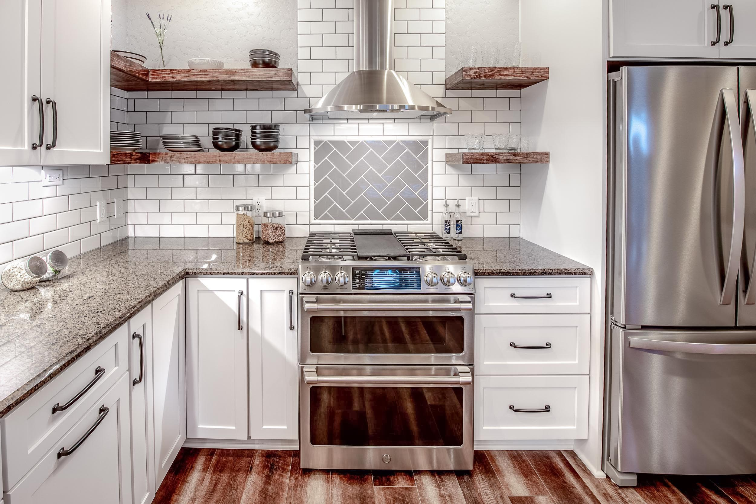 Kitchen Designed With Ge Cafe Appliances