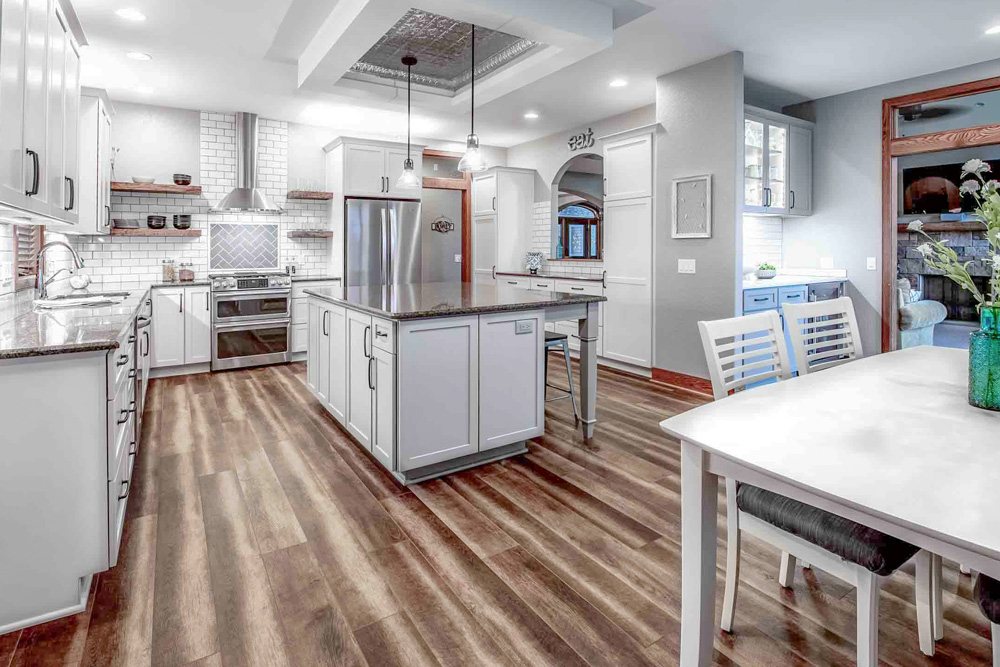 Multiple Room Home Remodeling in Windsor, WI