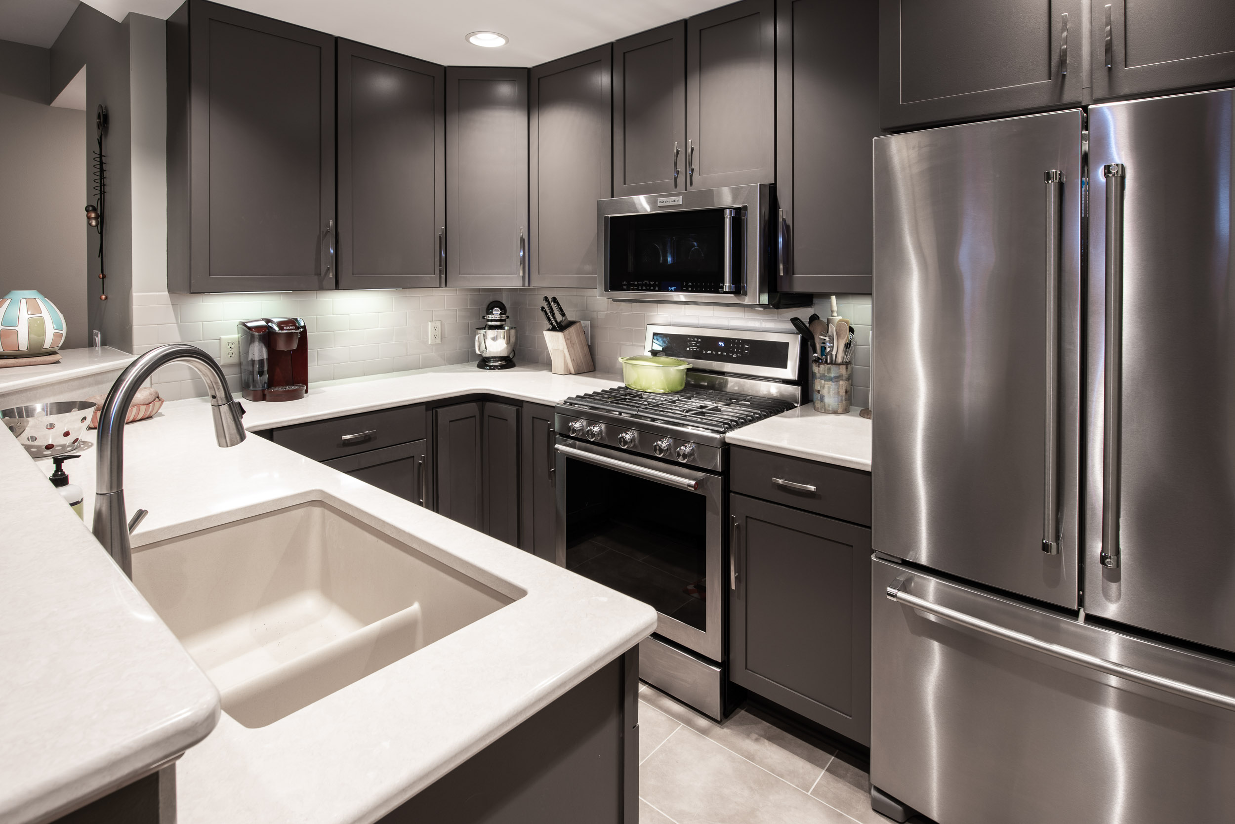 Metropolitan Place Condominium Remodel in Downtown Madison, WI