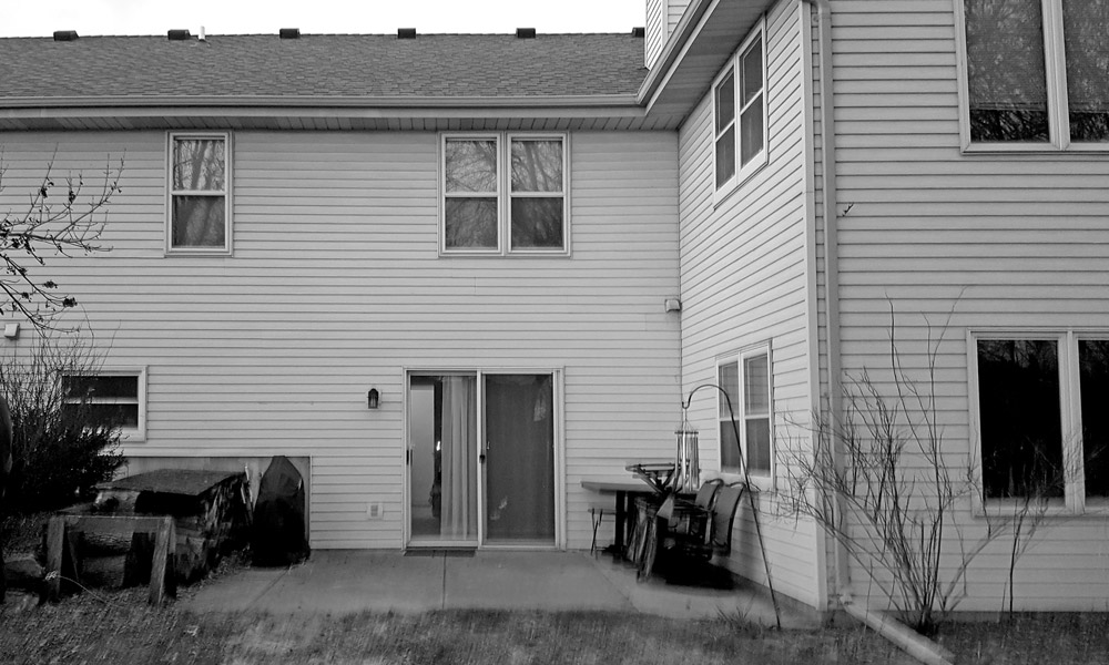 Before Picture - Back Porch Design - View The After Pictures Of This Project