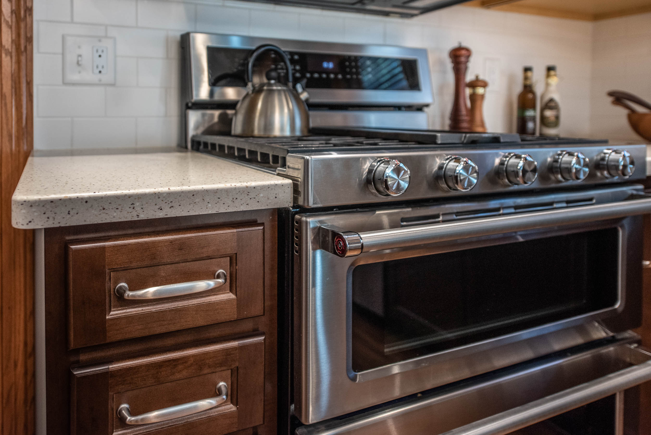 KitchenAid Double Oven Dual Fuel Range