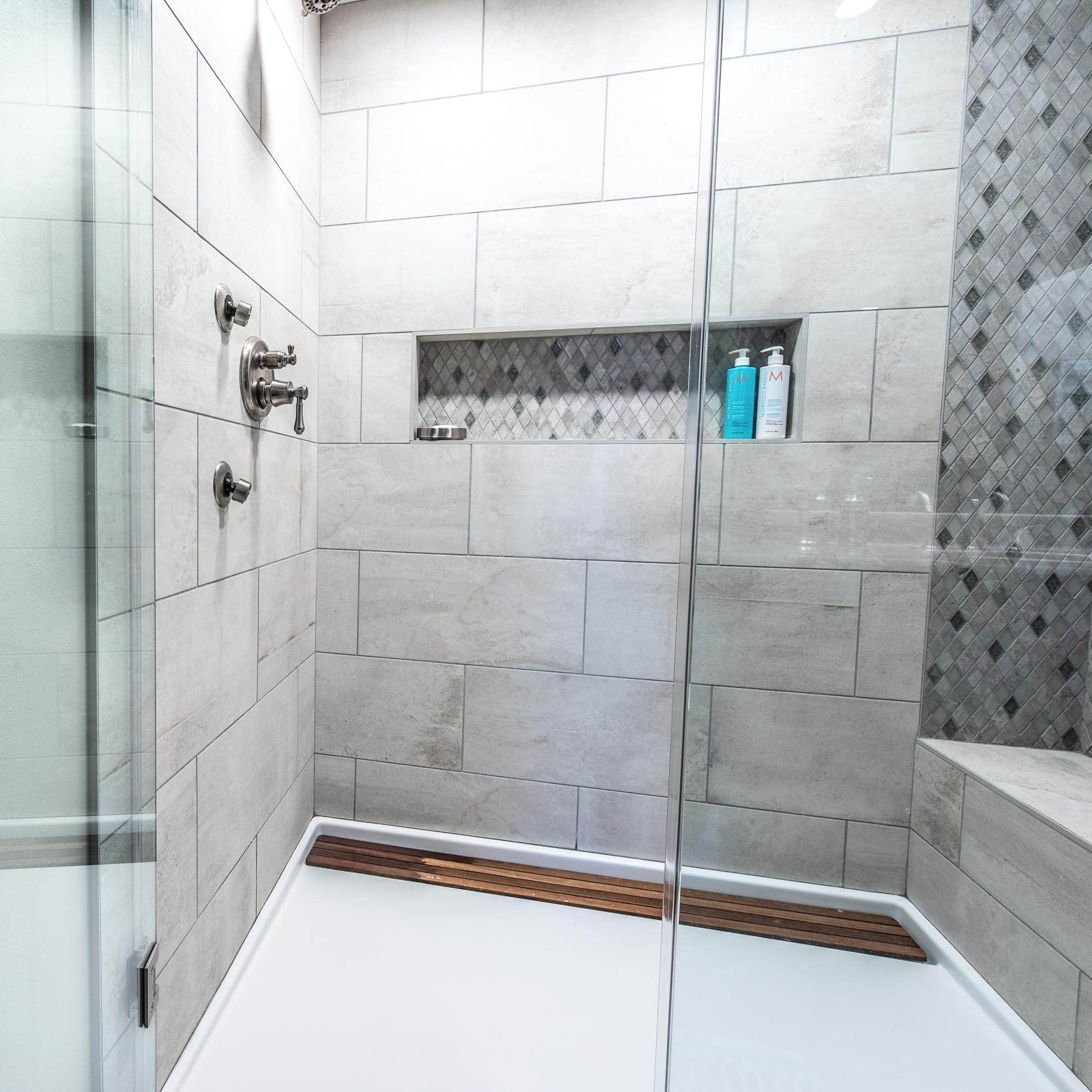 Master Bathroom Suite With Walk-In Shower