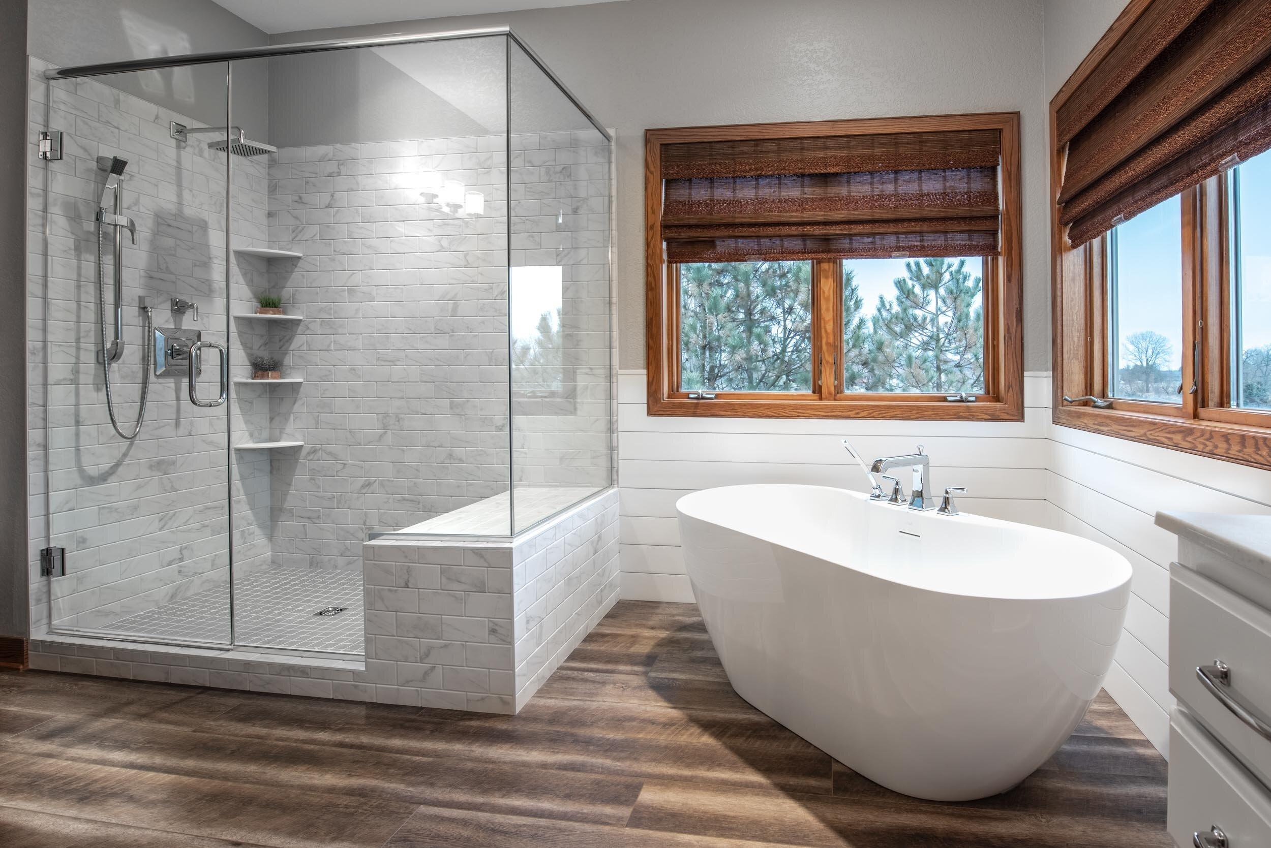 Is Wood Look Porcelain Tile A Good Choice When Remodeling Degnan Design Build Remodel