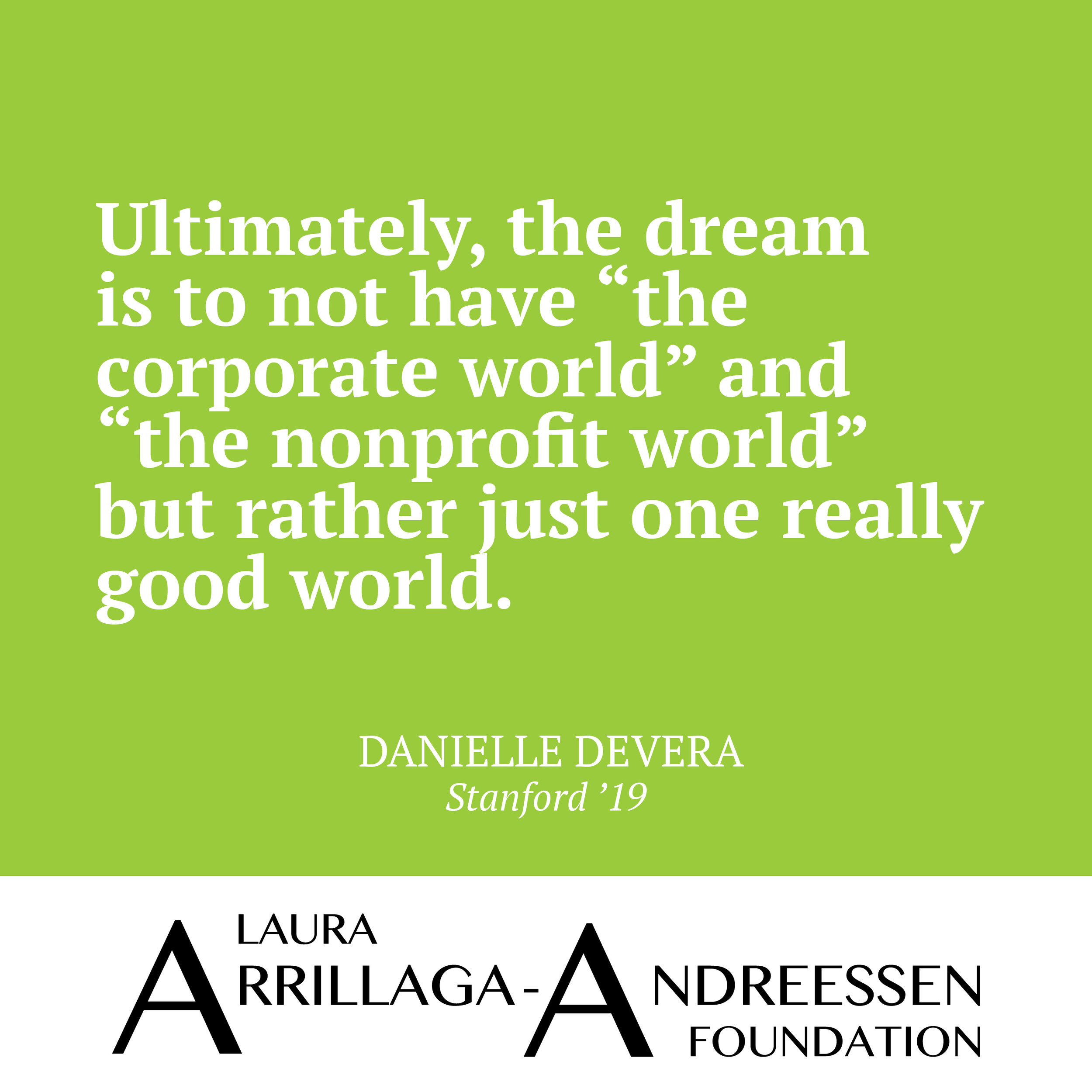 Danielle DeVera quote 4