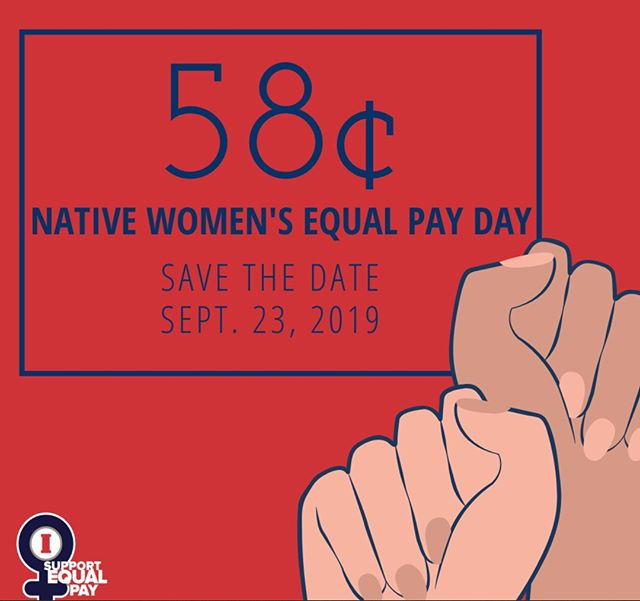Today is Native American Women's Equal Pay Day.  2016 research shows that Native American women earn approximately $0.58 per $1 earned by white, non-Hispanic men.  September 23 marks the day Native women must work into the new year to make what white men made at the end of last year.  Today, are you in to #DemandMore and ask for #Equality for Native Women everywhere?  Source: Equalpaytoday.org ⠀⠀⠀⠀⠀⠀⠀⠀⠀⠀⠀⠀ ⠀⠀⠀⠀⠀⠀⠀⠀⠀⠀⠀⠀ ⠀⠀⠀⠀⠀⠀⠀⠀⠀⠀⠀⠀ ⠀⠀⠀⠀⠀⠀⠀⠀⠀⠀⠀⠀ #equalpayday #equalpay #genderequality #racialequality #socialequity #leadership #womeninleadership #equality #equity #paygap #gendergap #womenempowerment #nativeamericanwomen #nativewomen #socialimpact #socialgood #equalpaydaytoday