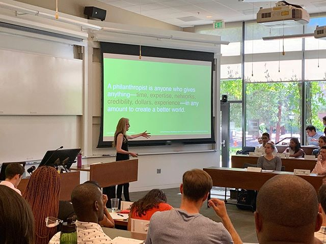 WEEK 1 in CLASS 🧠📕📝 ❓What differentiates charity from philanthropy? In today's Individual Philanthropy class at @stanfordGSB, graduate and undergraduate students discussed their own definitions and experiences around these terms. *** 🔍 Put simply, LAA defines charity as providing immediate relief from suffering, and philanthropy as the proactive effort to promote long-term human welfare. *** ✏️ Charity is a social palliative, whereas philanthropy is a social corrective intended to change systems and address the root causes of social problems. Nation *** 📌 Charity and philanthropy, however, are not mutually exclusive. LAA explains that being a philanthropist, more often than not, involves investing in both charity and philanthropy, as we still need to deal with the current ramifications of social problems while striving to solve them. *** What are your thoughts? 💭
