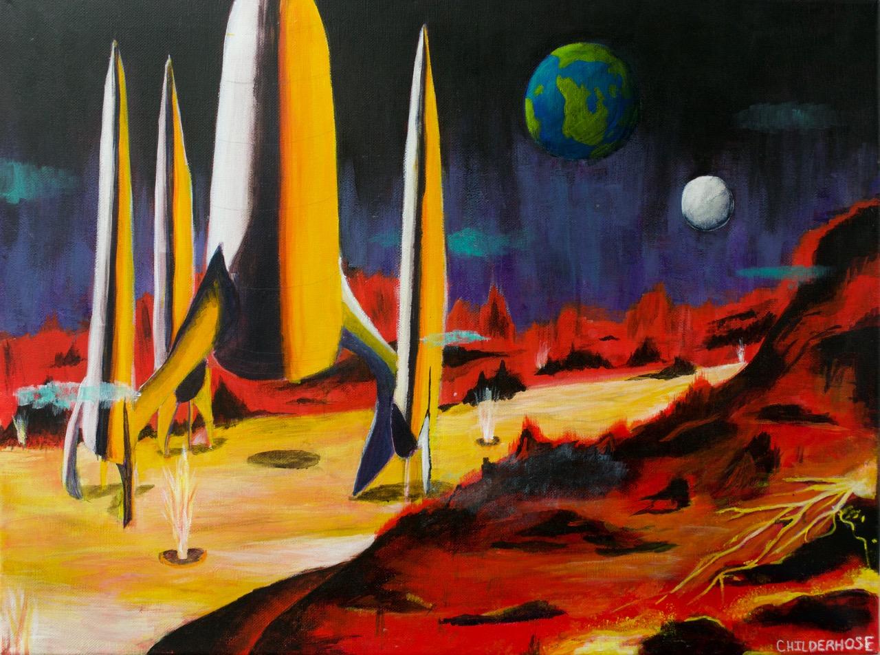 Landing on Mars - 24