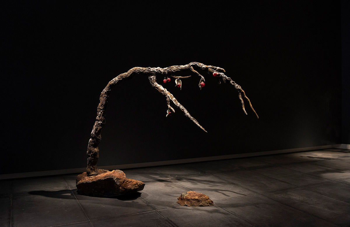 Winter Plum, Arboria show at Tacoma Art Museum, January 2019 - January 2020