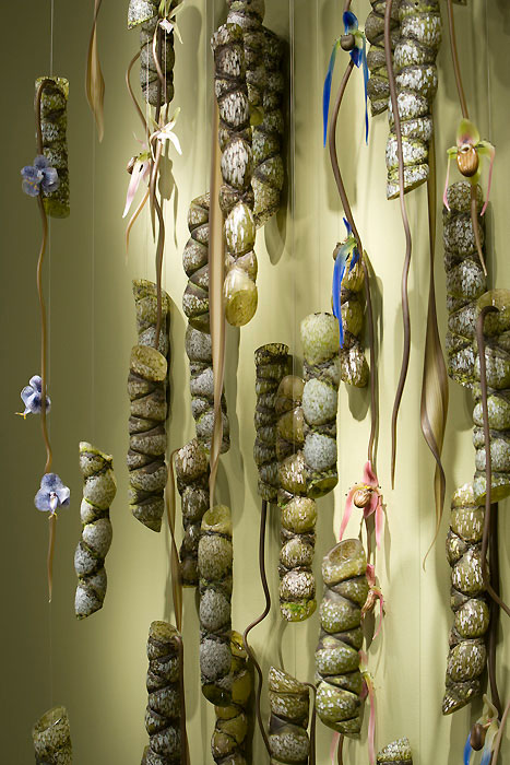 Kiko Bamboo Grove Blown and Sculpted Glass 154 x 76 x 20