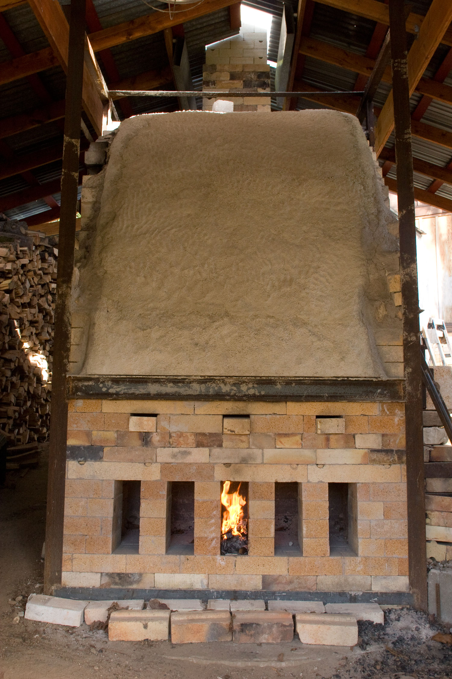 "Wood-Fired Kiln  (""Skyline Kiln"")"