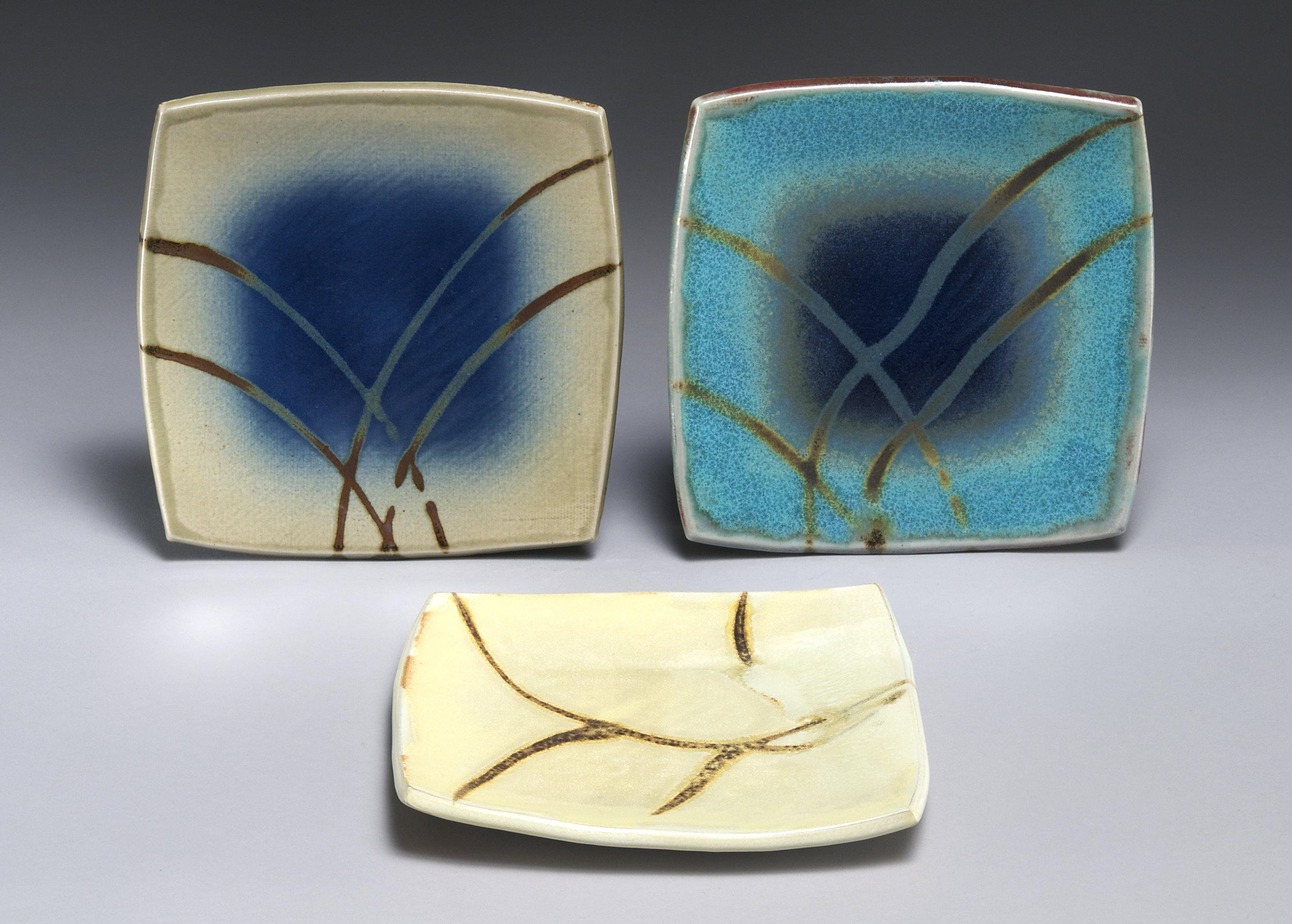 Square slab plates