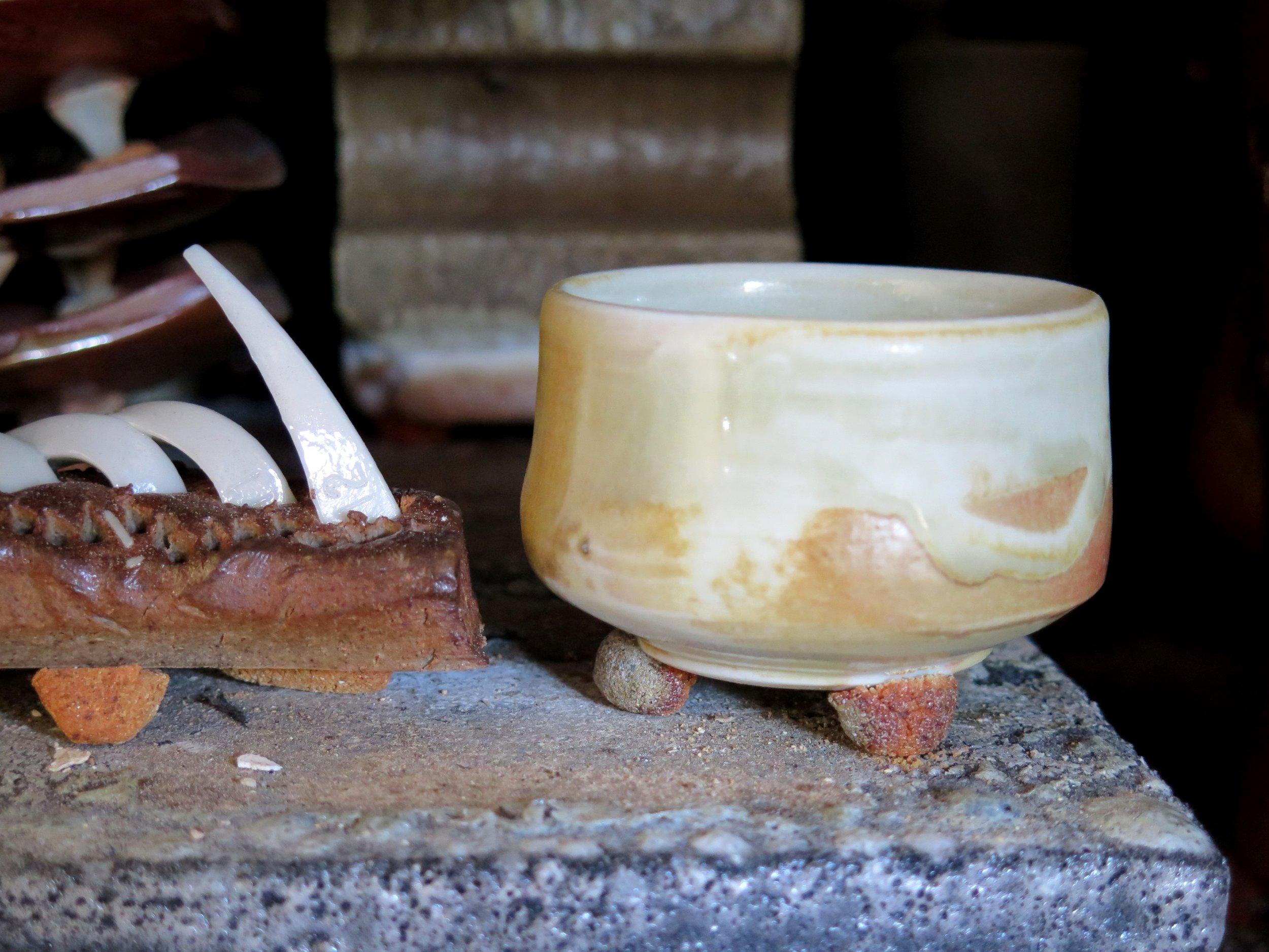 Porcelain wine cup