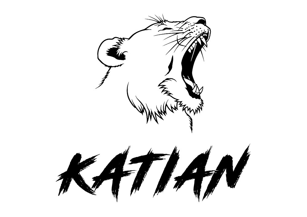 KATIAN… - ... the name is a combination of both of our names (Daniel and Catalina) and my son Damian. Katian in a very old unofficial version of Latin, means perfection, or better, the pursuit of perfection. Exactly what Katian is looking to achieve with every item we create!The logo of the company, the lioness... is simply because Catalina and Damian are both born on the same day, the 31.st of July. We are both Leo. Everything has a strong meaning in our business!