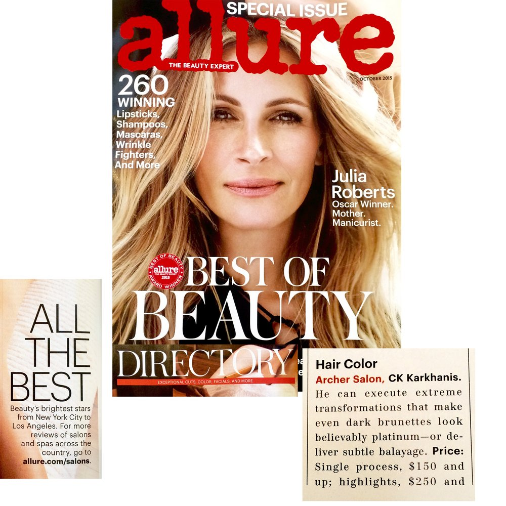 Allure Best of Beauty Directory featuring Ck Karkhanis