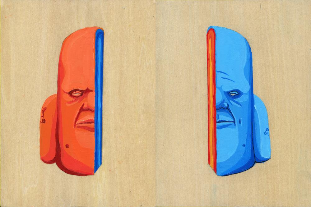SPLIT - acrylic