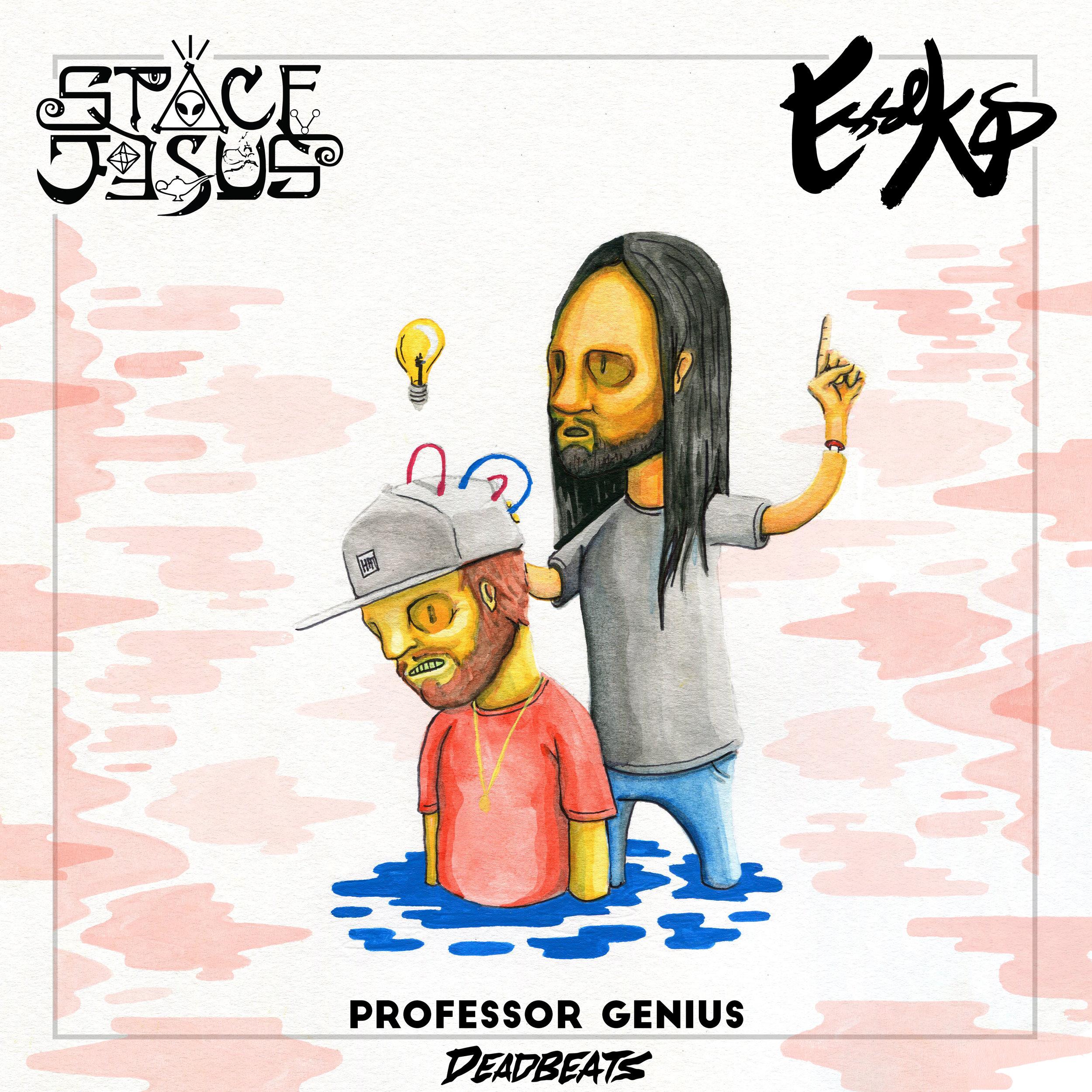 Space Jesus + Esseks - Professor Genius - ARTWORK.jpg