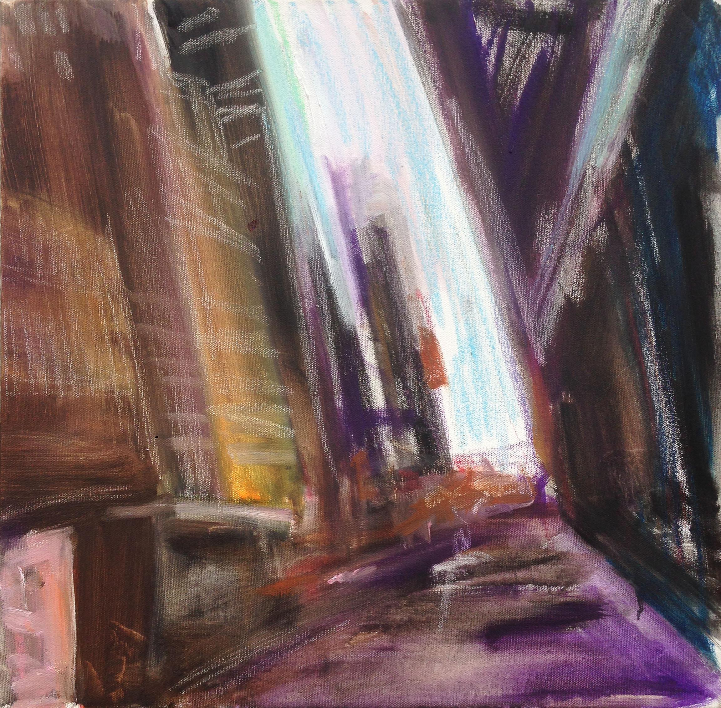 New York Street Evening