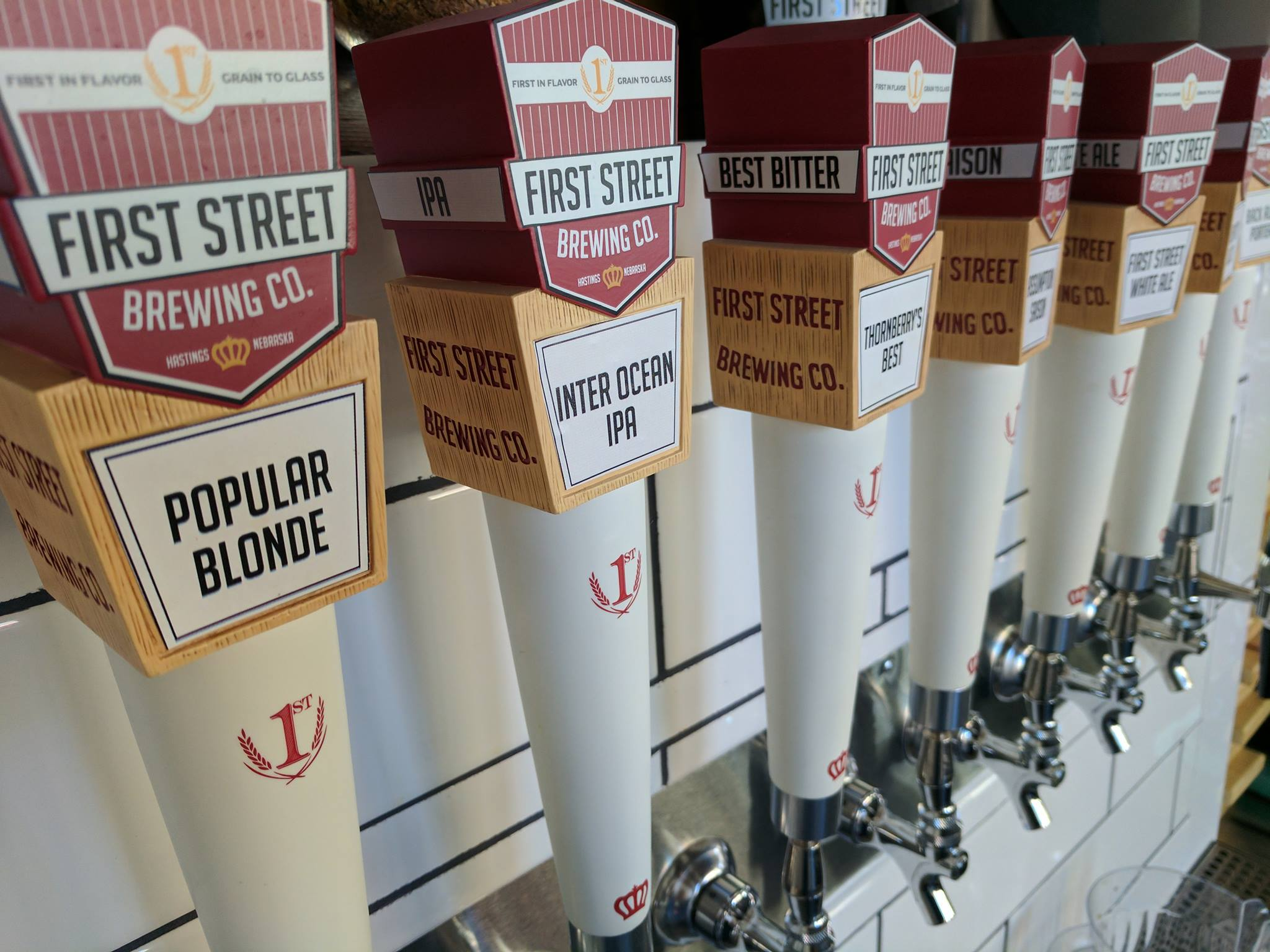 First Street + Free Beer & Chicken -