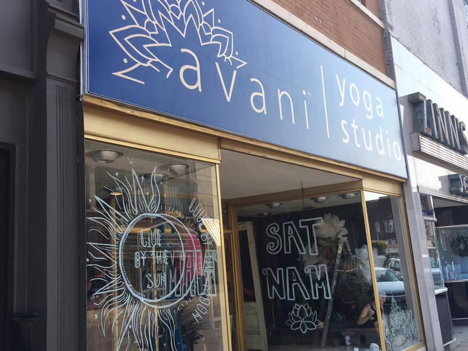 Happy birthday, Avani Yoga Studio -